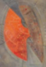 21. Оберег. 2015, бумага, гуашь, пастель