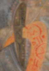 22. Оберег. 2015, бумага, гуашь, пастель