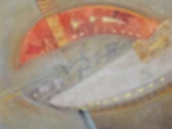 16-1. Оберег. Гривна I.  2008, бумага, г