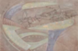 24.Тропос. 2015, бумага, гуашь, пастель,