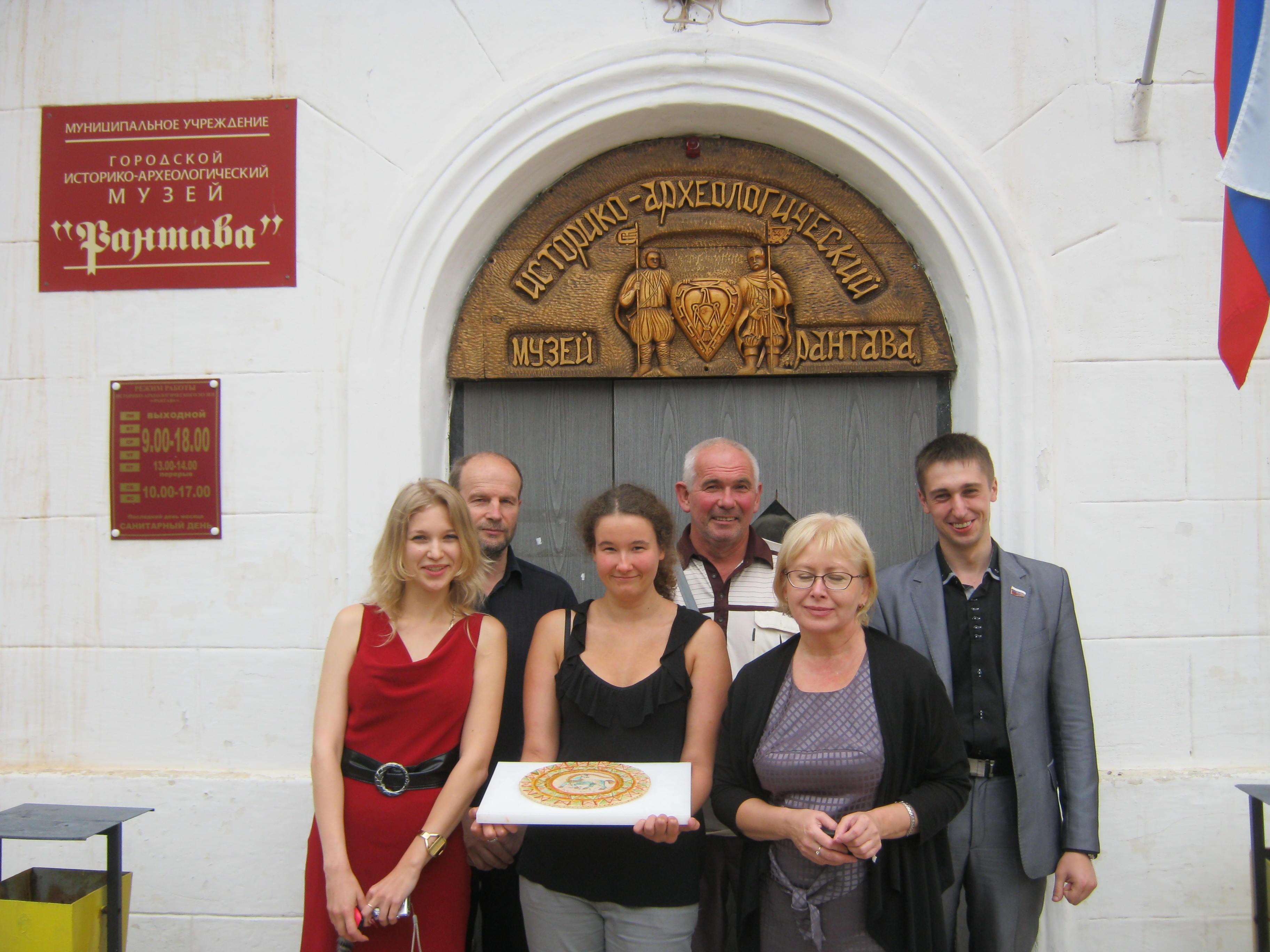 """Выставка марципана в музее """"Рантава"""""""