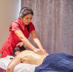 Swedish massage is gentler than deep tissue massage