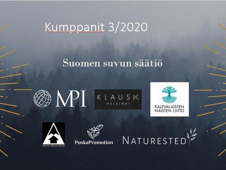 Hankekumppanit 3/2020 - vielä ehtii hakea mukaan!