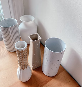 Hand-Designed Vases