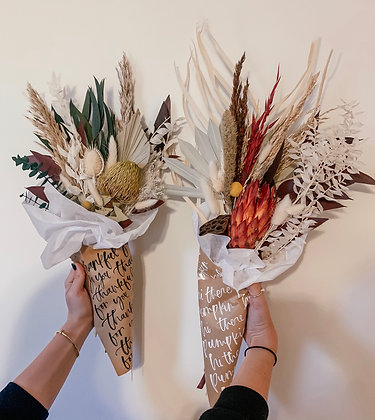 Calligraphy Bouquet Wrap