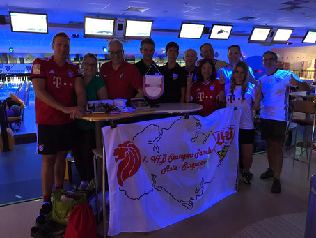 "Bundesliga All-Stars are the ""Invincibles"" at ""Meisterschaft"" (in Bowling in Singapore) 2018/2019"