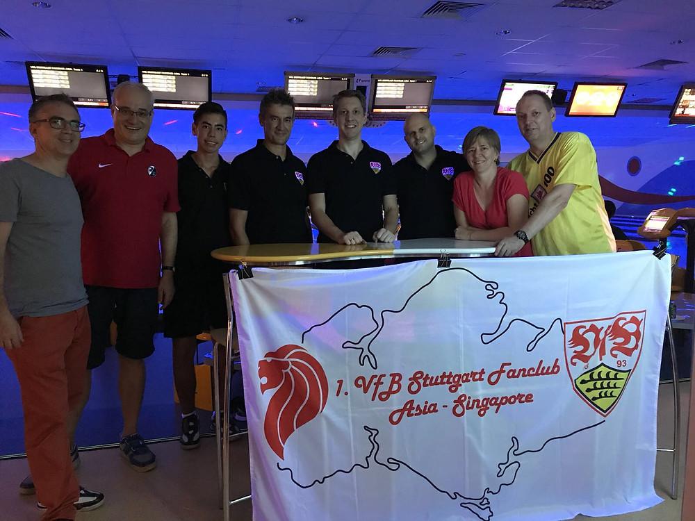 From left: Christoph K., Christoph W., Sasha D., Hartmut D., Ingo J., Tim K., Melitta K., Roland H.