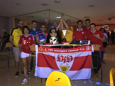 """SpVgg Eintracht Braunschweig Waldhof Mannheim is the """"DFB-Pokalsieger"""" 2017 (in Bowling in"""