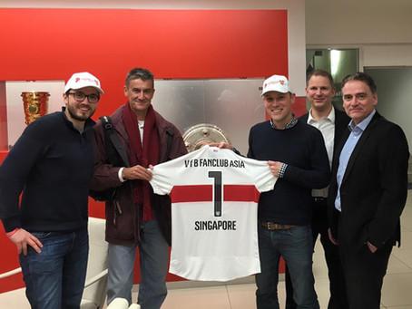 1. VfB Stuttgart Fanclub Asia receives official 2015/2016 jersey