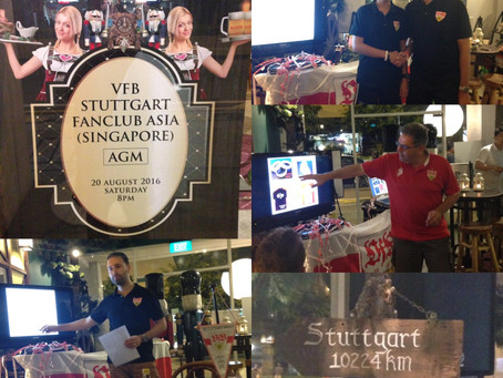 1. VfB Stuttgart Fanclub Asia (Singapore) - Annual General Meeting 2016
