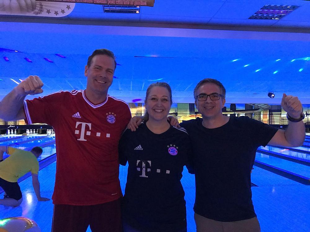 FC Bayern Augsburg: Sven I., Anne L., Christoph K.