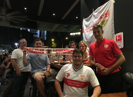 Turbulent start into Bundesliga Season 2017/18 for 1. VfB Stuttgart Fanclub Asia