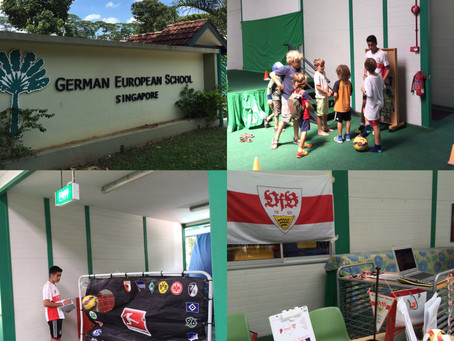 1. VfB Stuttgart Fanclub Asia (Singapore) on hunt for new members at German European School Singapor