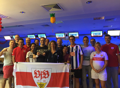 "Hertha BSC Berlin crowned ""Meister"" 2017 (in Bowling in Singapore)"