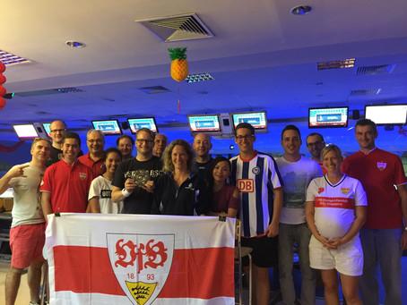 "Hertha BSC Berlin crowned ""Meister"" 2017 (in Bowling in Singapore)"