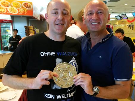 "Surprise win of Regionalliga Süd/Südwest team Waldhof Mannheim at Bundesliga ""Meisterschaft&quo"