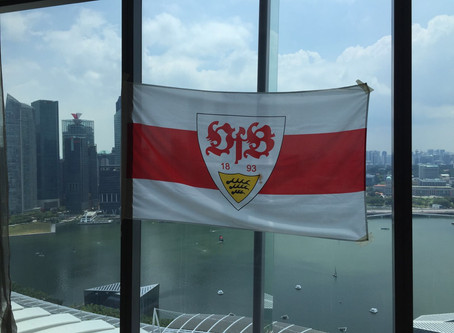 Special game screening of FC Augsburg vs VfB Stuttgart at Marina Bay Sands, Singapore