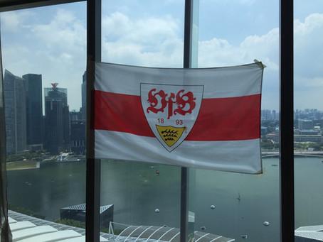 Special game screening of FC Augsburg vs VfB Stuttgart at Marina Bay Sands, Singapore
