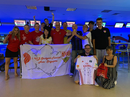 Waldhof holt den DFB-Pokal (in Bowling in Singapore) again!