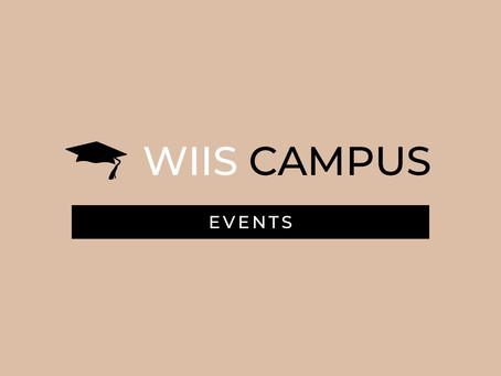 Report: WIIS Campus Launch Event