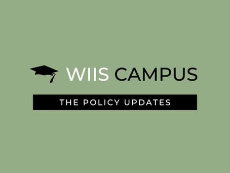 WIIS Campus Policy Update- December 2020