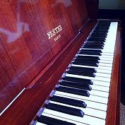 Piano studio enrefistrement