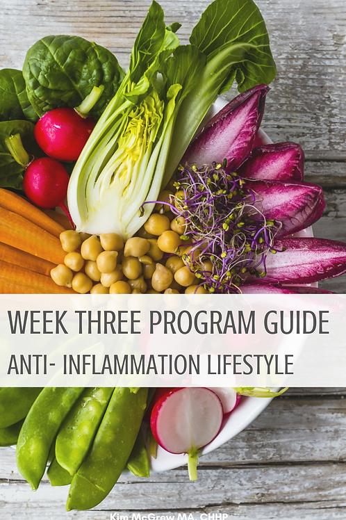 Week 3 - Anti-Inflammation Guide