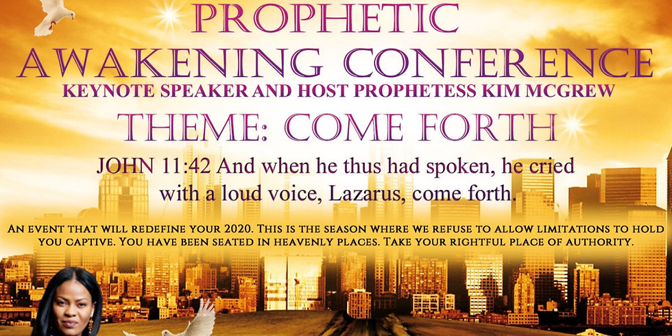 The Prophetic Awakening Conference
