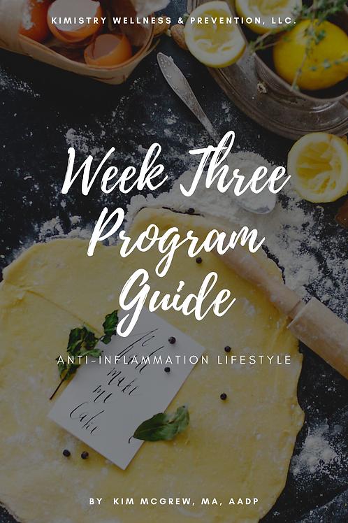 Week 3 Anti-Inflammation Guide
