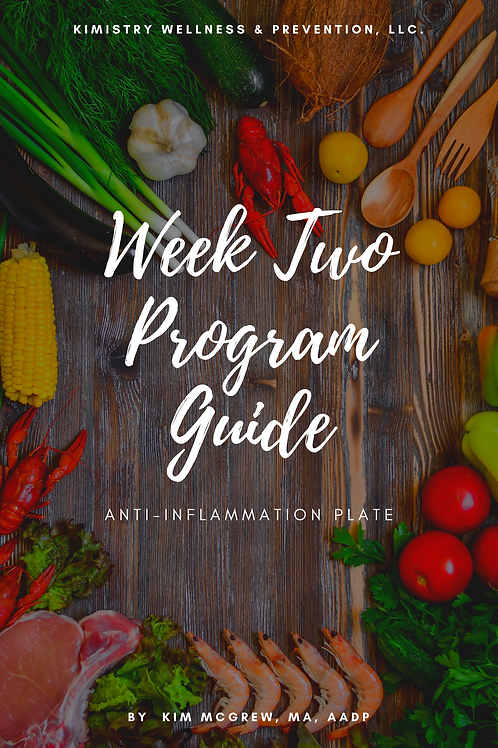Week 2 - Anti- Inflammation Guide