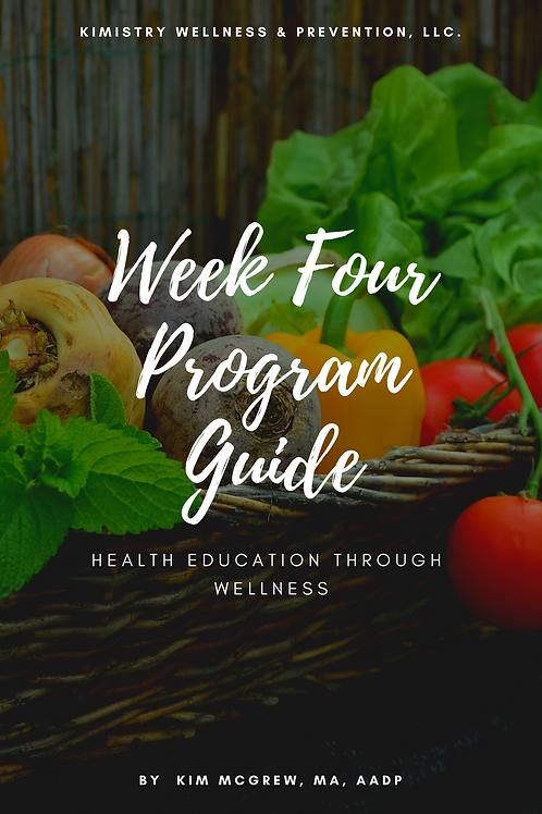Week 4 - Anti-Inflammation Guide