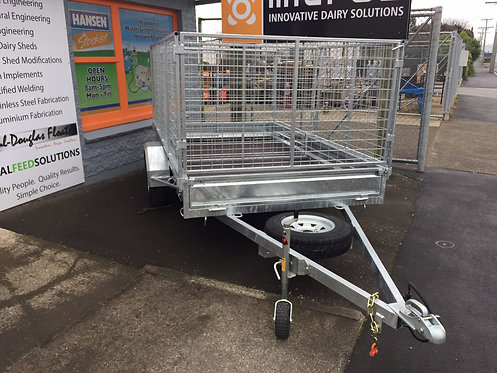 9x5 ORION Single AXLE TIPPER Trailer.  Rated 1500kg      (Crate sold separately)