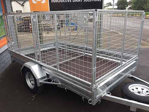 9x5 ORION Single Axle Trailer.  Rated 1500kg            (Crate sold separately)