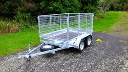 ORION 8x5 Tandem + 950mm Crate