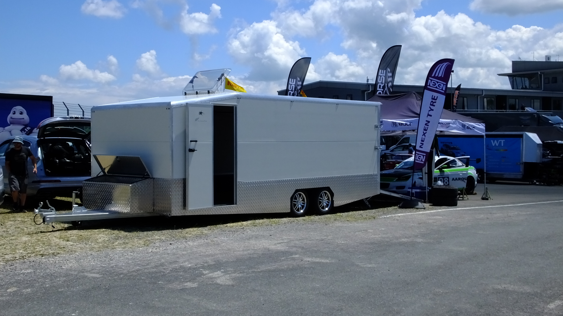 MStar Race Car & Motorbike Trailer