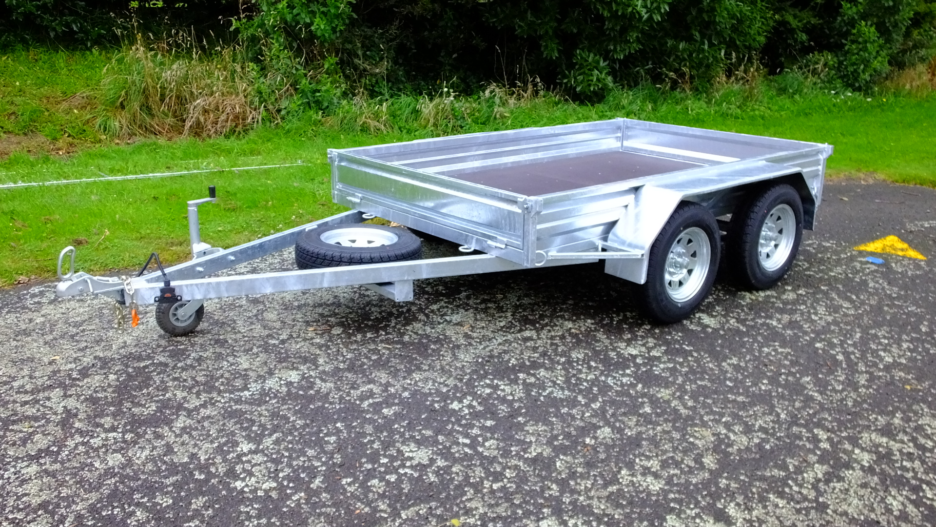 ORION 8x5 Tandem Axle Trailer