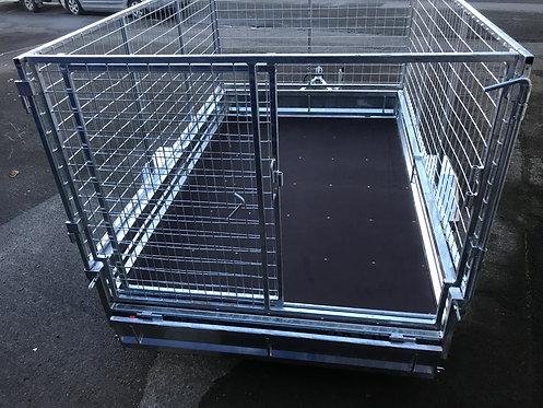 950mm 8x5 Stock Crate - Sliding Door.  ORION Trailer Crate, Hot-Dip Galvanised