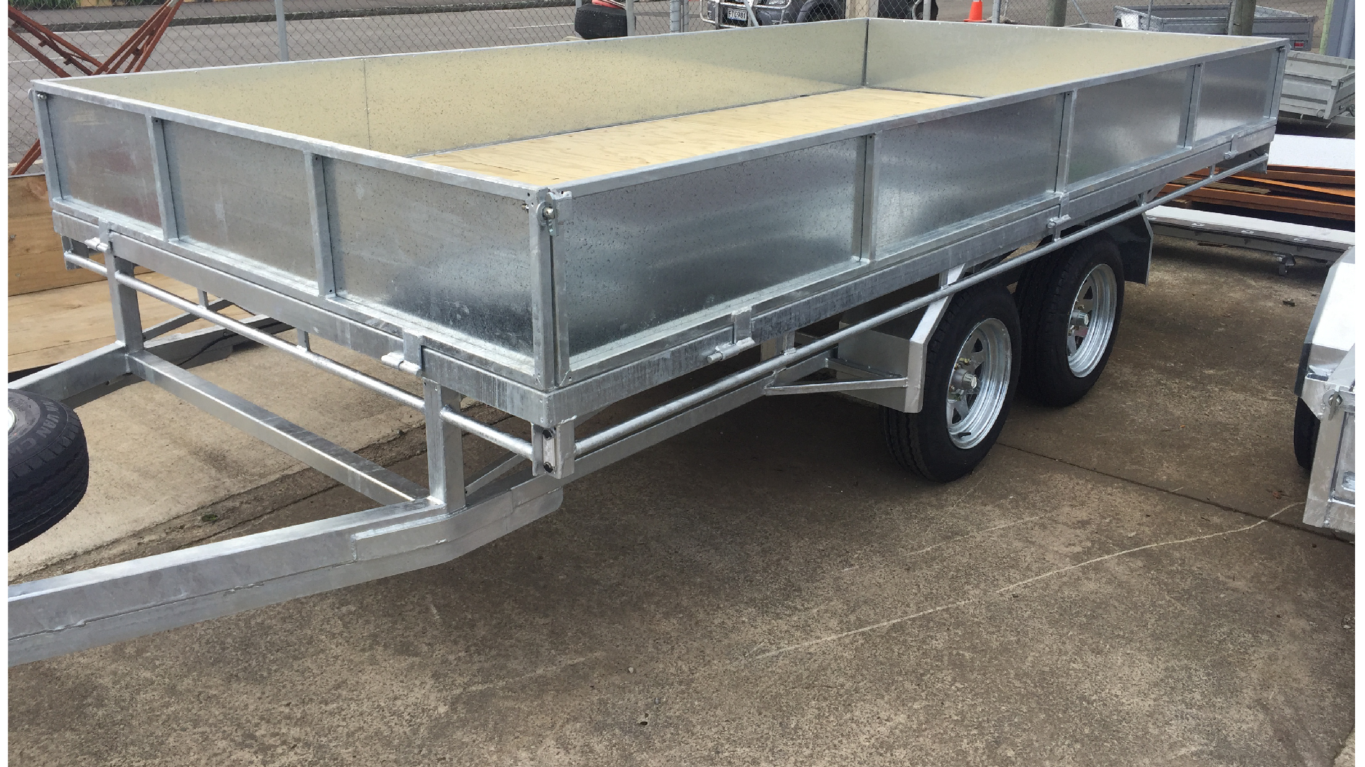 ORION 4m x 2m Flat Deck Trailer