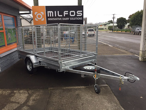 9x5 ORION Single AXLE TIPPER Trailer.  Rated 1380kg      (Crate sold separately)