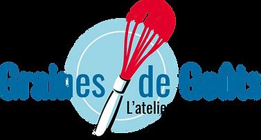 Logo Graines de Gouts + baseline sans fo