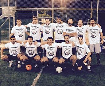 21/10/2015: Φιλικός Αγώνας Βετεράνων με Ανδρική ομάδα