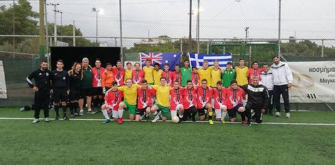 Φιλικός Αγώνας Αναγέννηση - Australian Futsal Association (22/10/18)