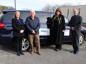 Agency Activates Monroe Transport Vehicle with Support from ESSA and Lions Clubs