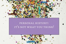 May Is Personal History Awareness Month