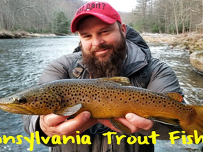 Pennsylvania Trout Fishing Season Now Open
