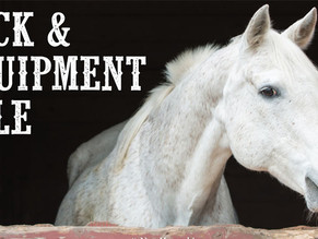 4-H Equine Garage Sale Open to the Public