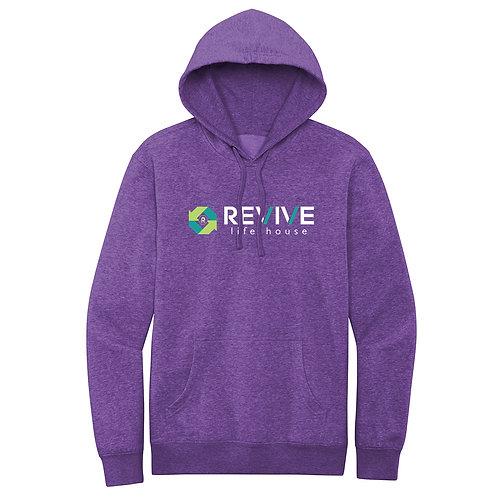 Unisex Purple Frost Hoodie