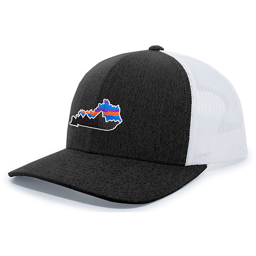 PataKY Black Heather/White Trucker Hat
