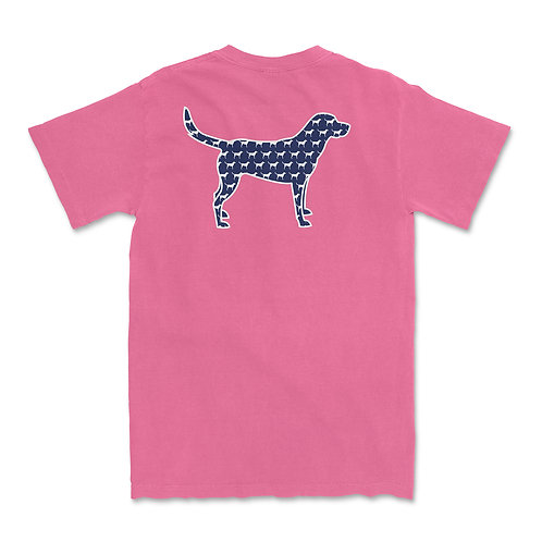 Dogs Pink Tee