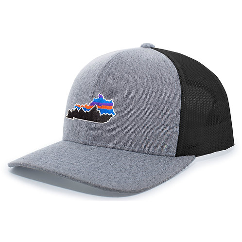 PataKY Grey Heather/Black Trucker Hat